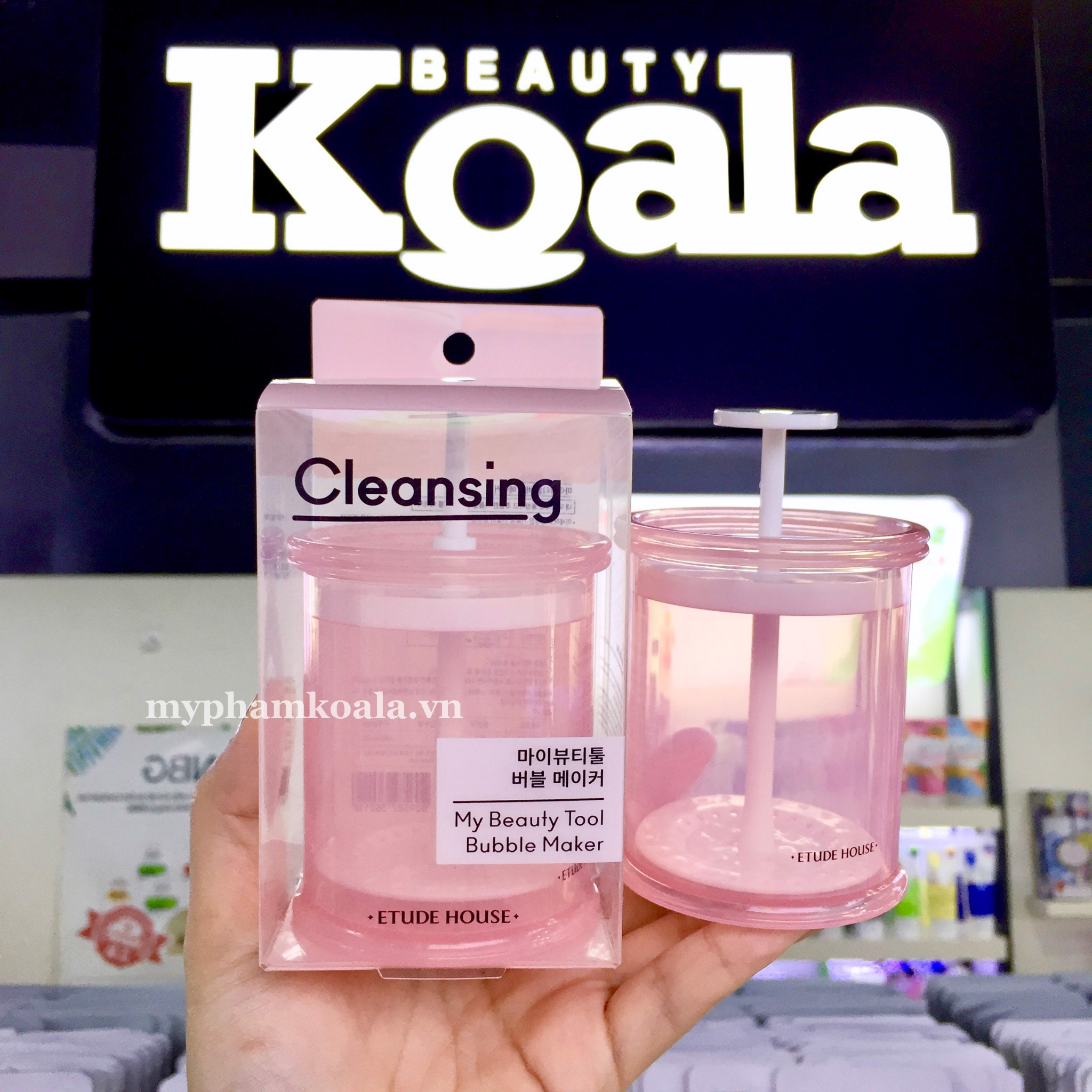 [ NEW 2019 ] Cốc Tạo Bọt Etude House My Beauty Tool Bubble Maker