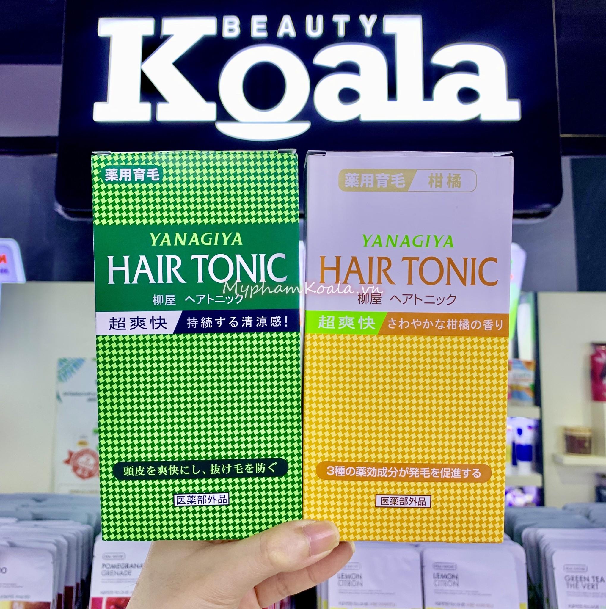 Thuốc Tinh Dầu dưỡng tóc YANAGIYA Hair Tonic (240ml)