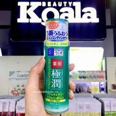 Lotion Dành Cho Da Mụn Hada Labo Gokujyun Mediacated Skin Conditioner 170ml