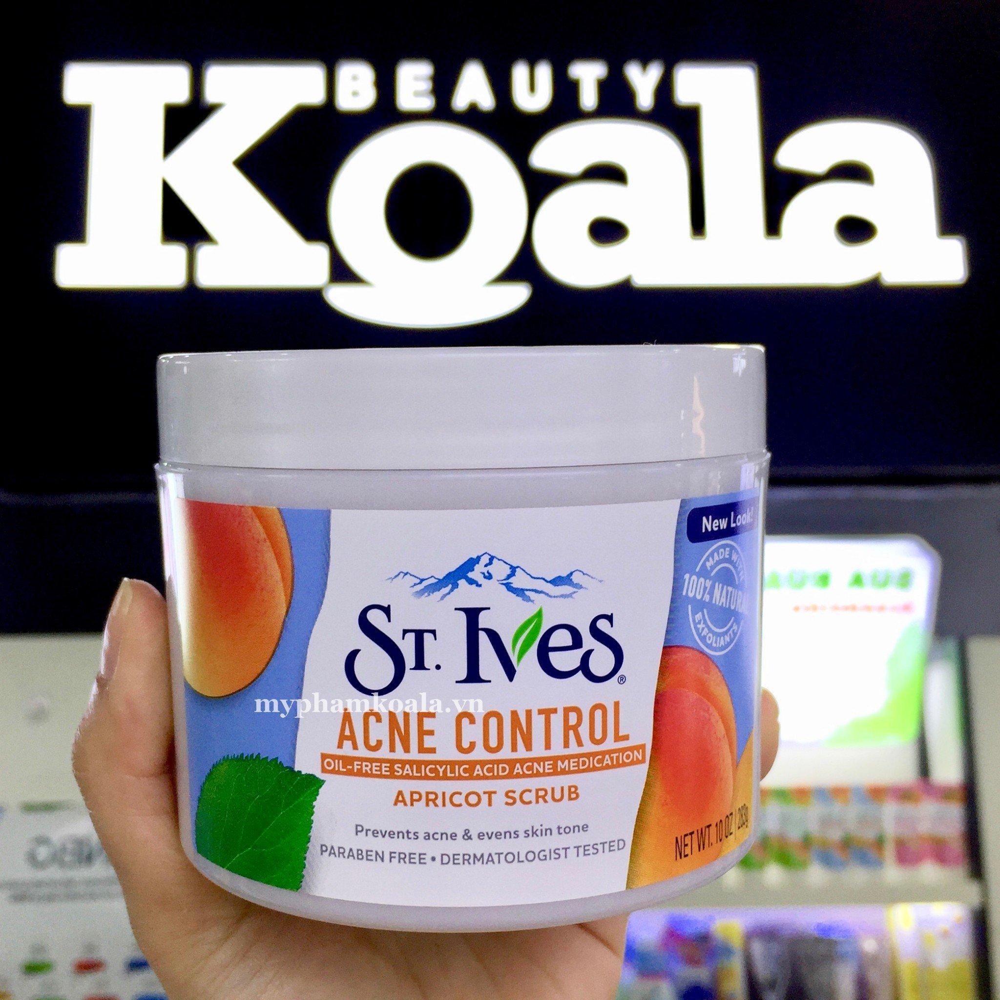 Tẩy Tế Bào Chết Stives Fresh Skin Apricot Scrub 283g