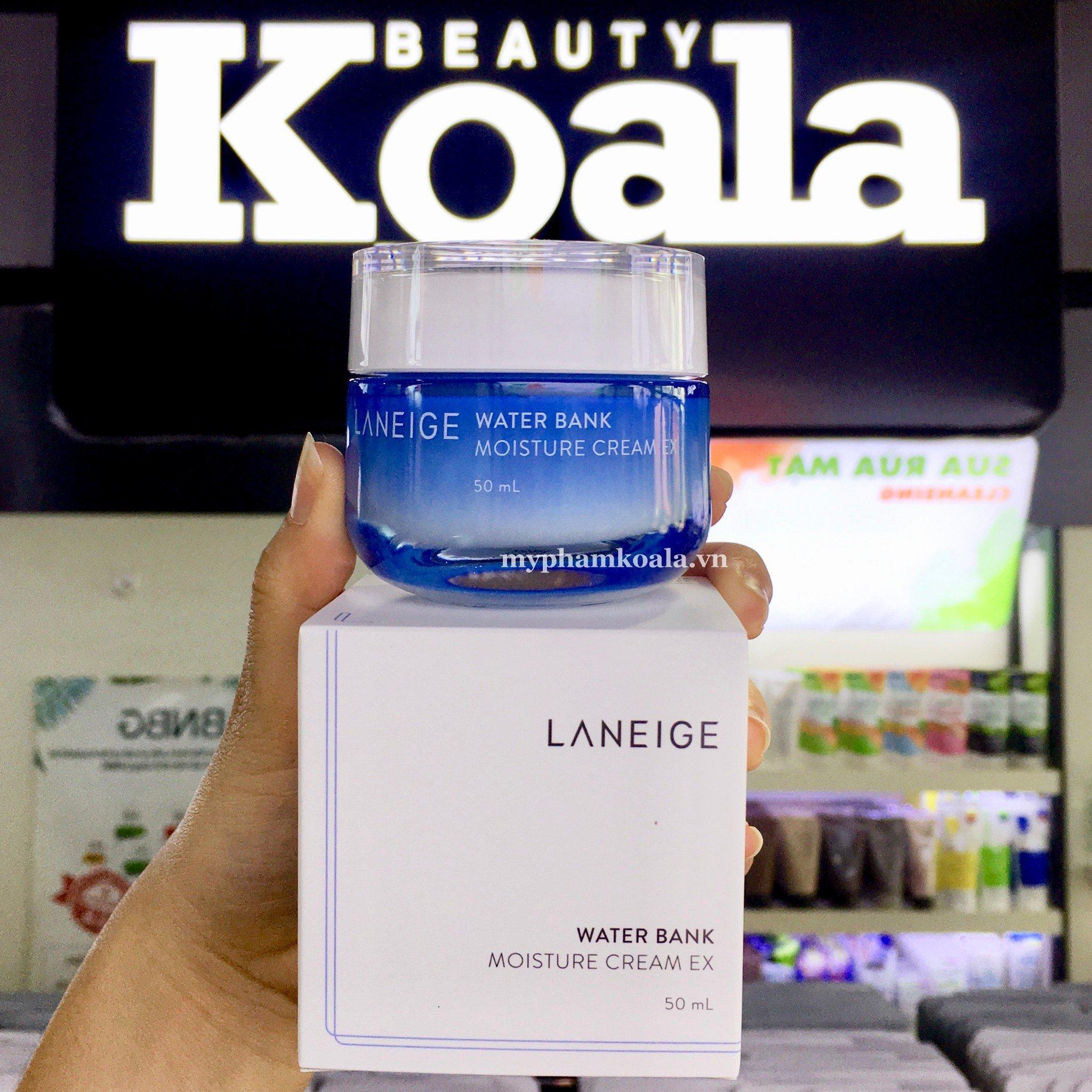 Kem Dưỡng Cấp Nước Laneige Water Bank Moisture Cream EX 50ml