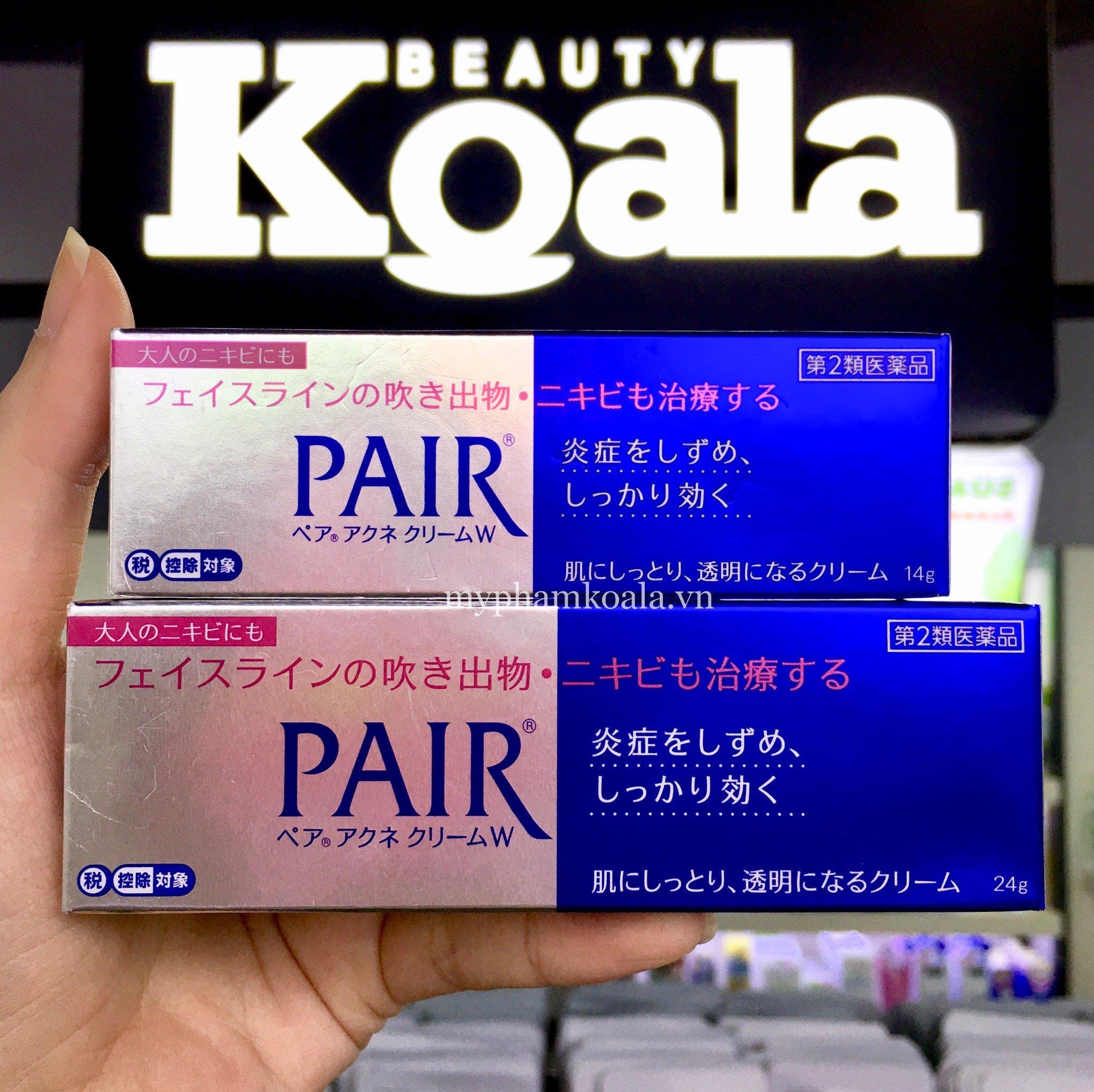 Kem Trị Mụn Lion Pair Acne W Cream 14gr và 24gr