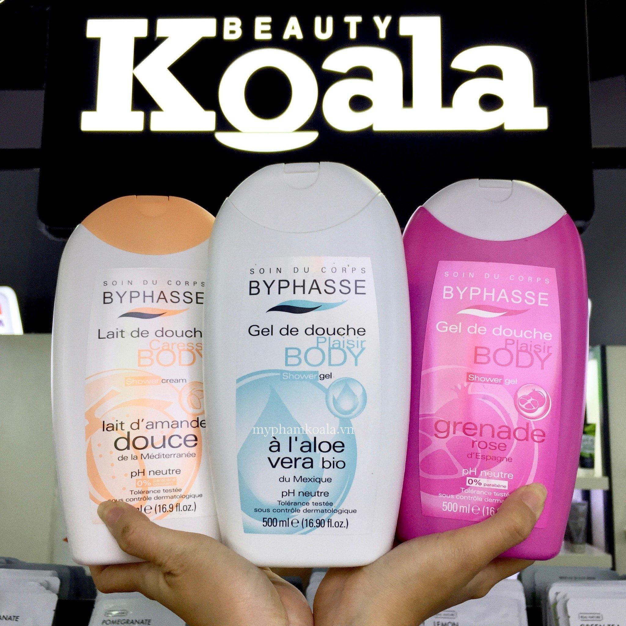 Sữa Tắm Nước Hoa Byphasse Shower Gel Cream 500ml