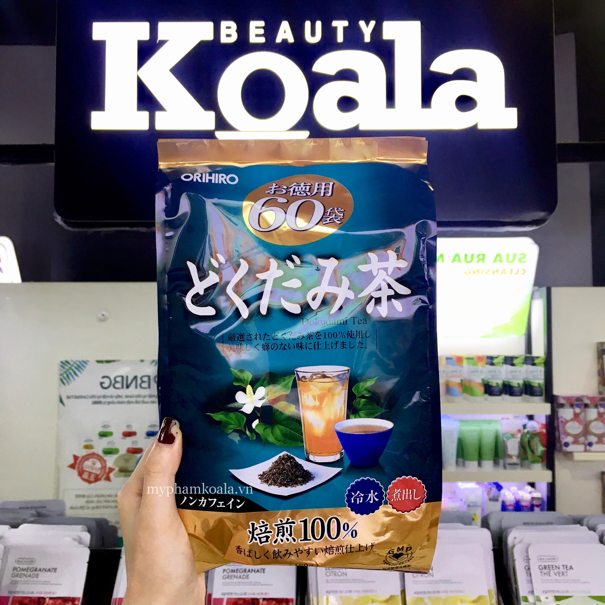 Trà Thải Độc Diếp Cá Orihiro Dokudami Tea 60gói