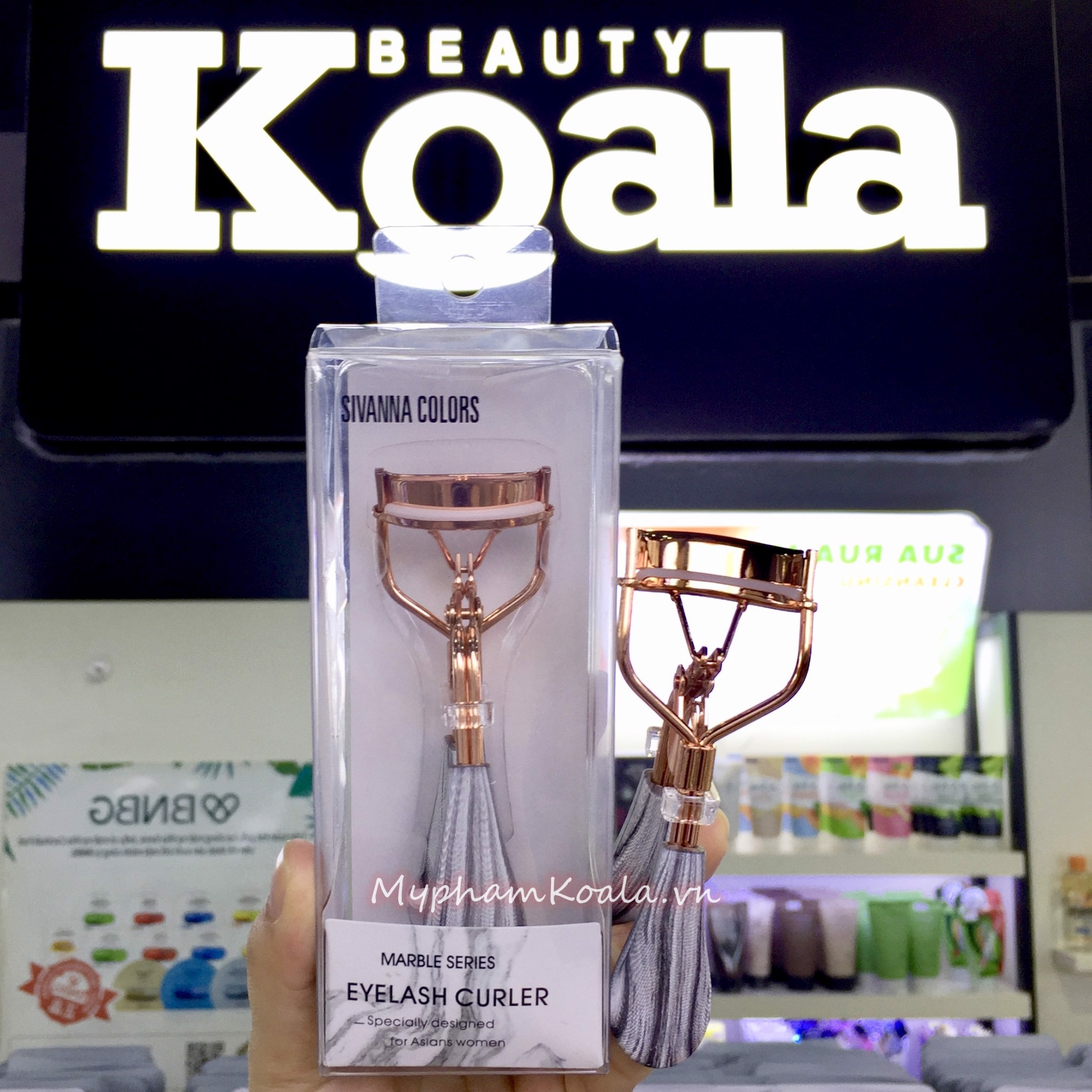 Bấm Mi Sivanna Colors Eyelash Curler Marble Series