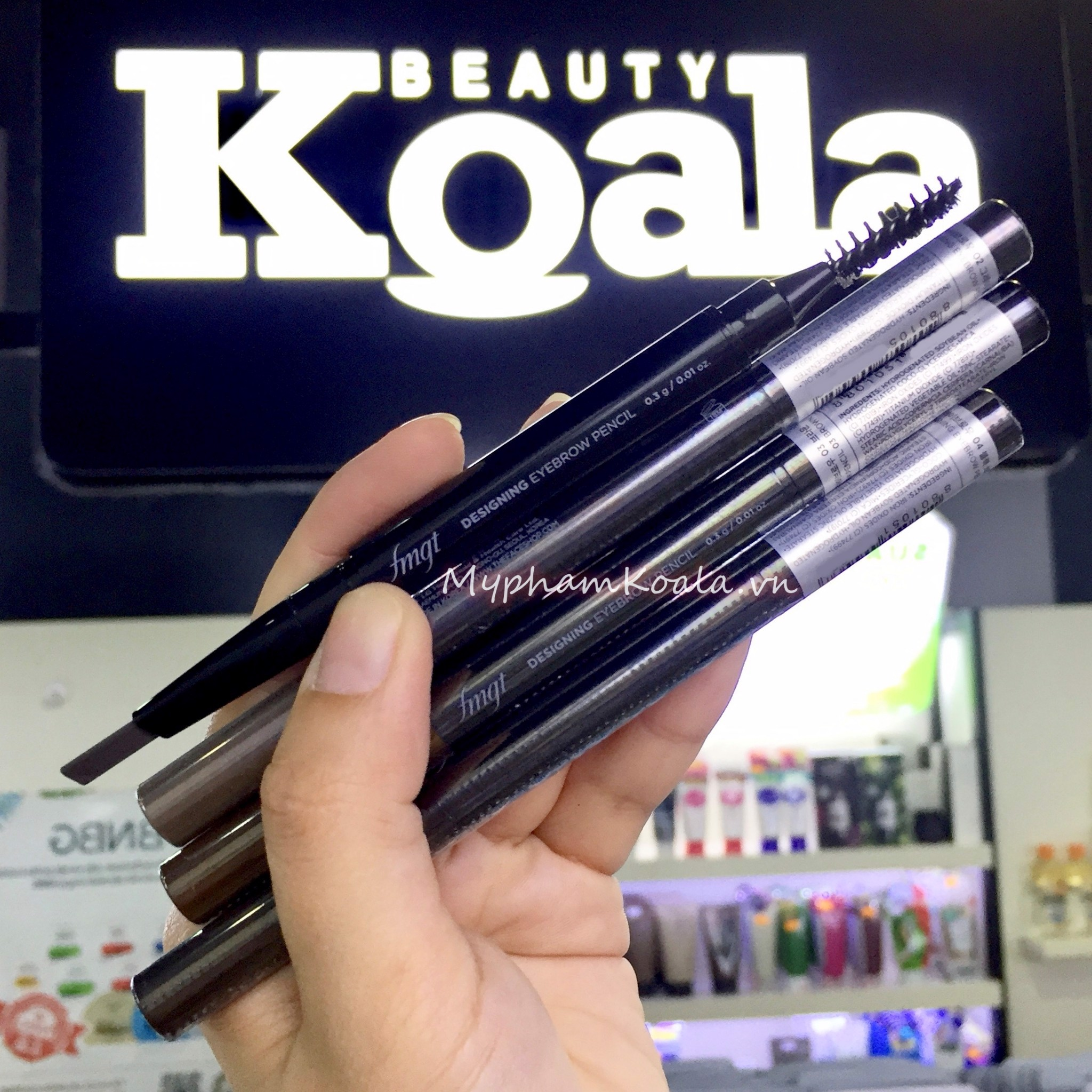 Chì Kẻ Mày The Face Shop fmgt Designing Eyebrow Pencil
