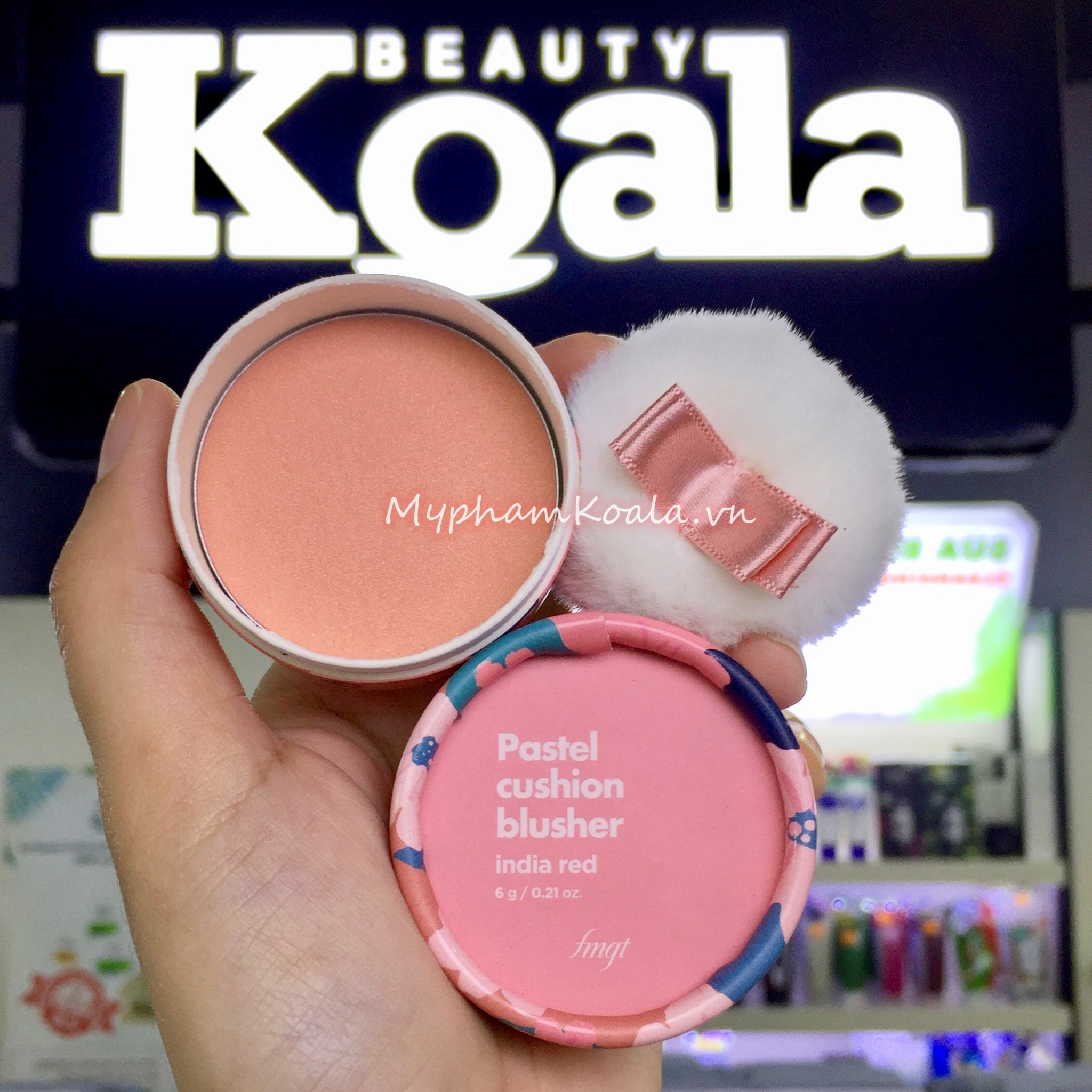 Má Hồng The Face Shop fmgt Pastel Cushion Blusher