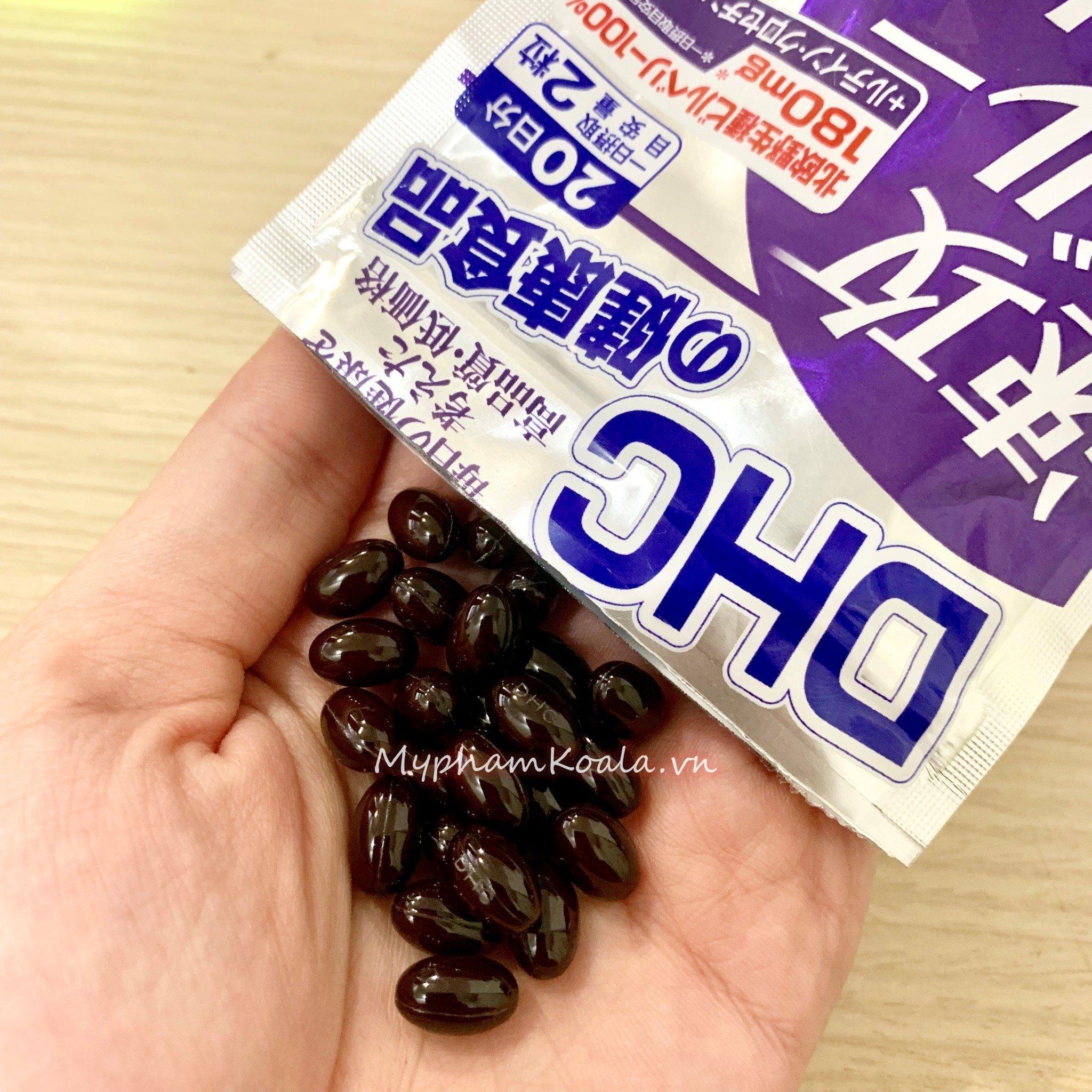 Viên Uống Bổ Mắt Việt Quốc DHC Blueberry Extract