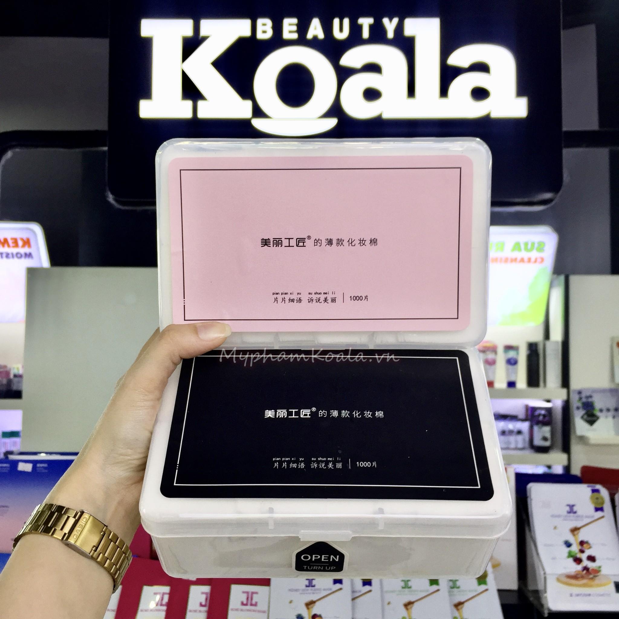Bông Tẩy Trang Beauty Artis 1000pcs