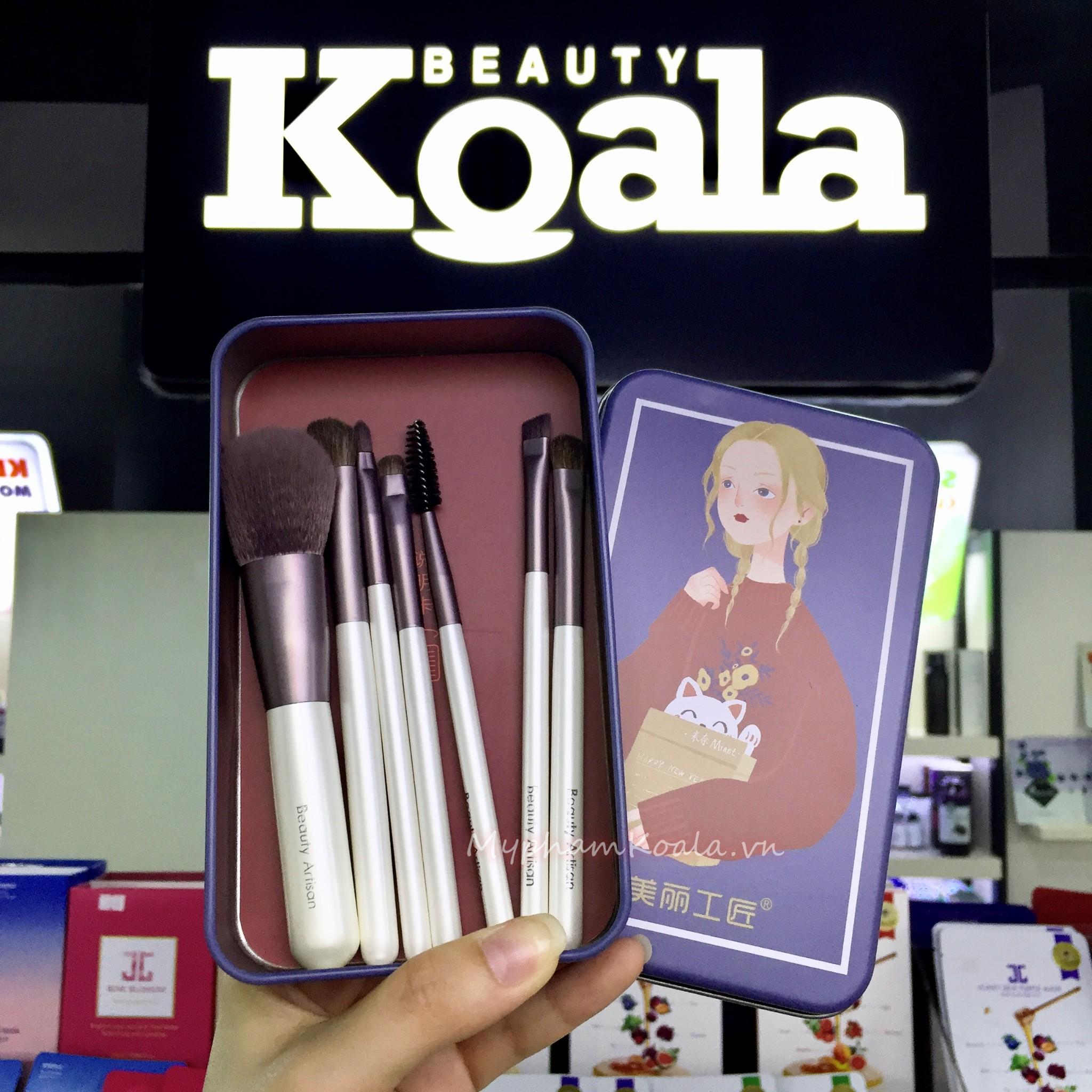 Bộ 7cây Cọ Trang Điểm Du Lịch Beauty Artis