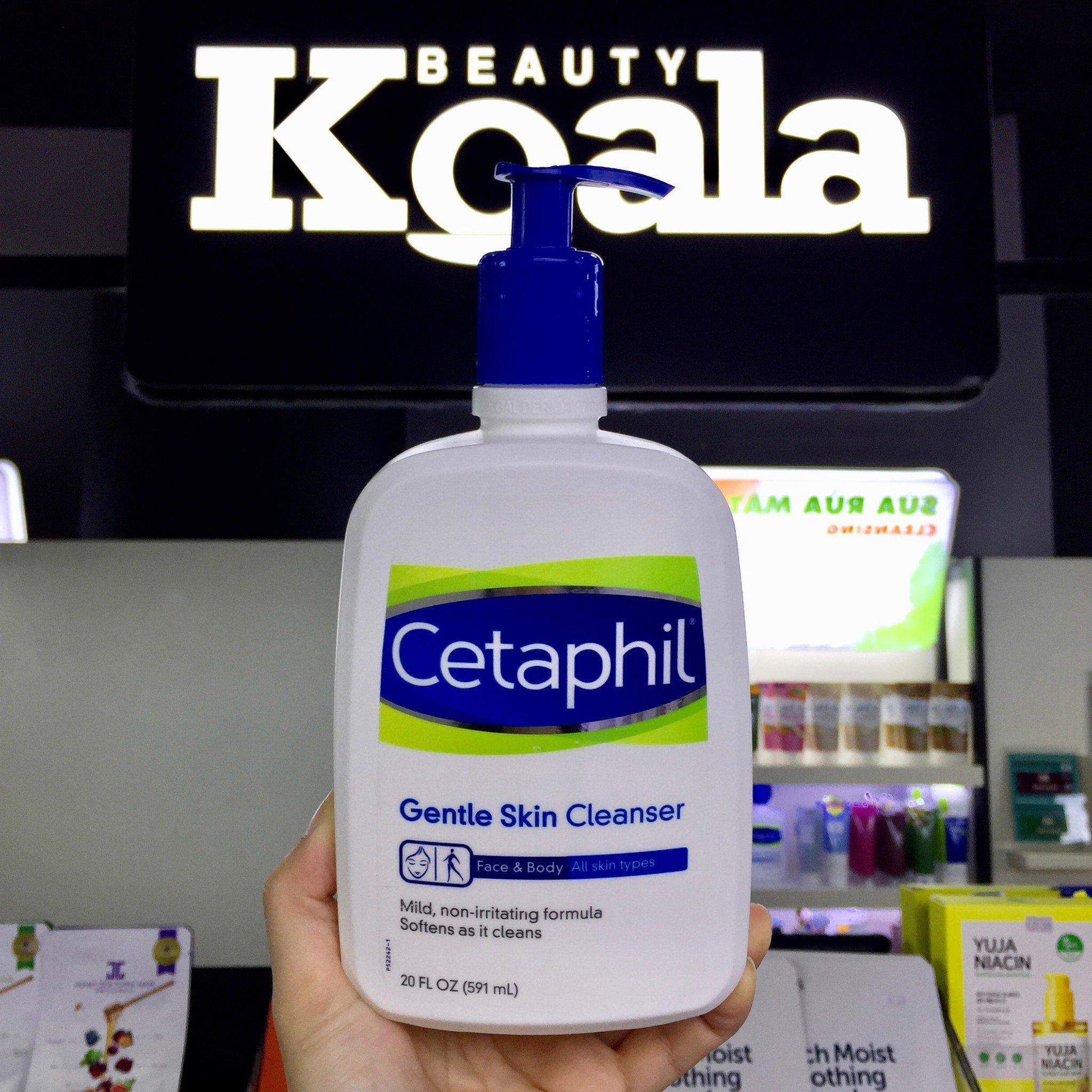 Sữa Rửa Mặt Dịu Nhẹ Cetaphil Gentle Skin Cleaner