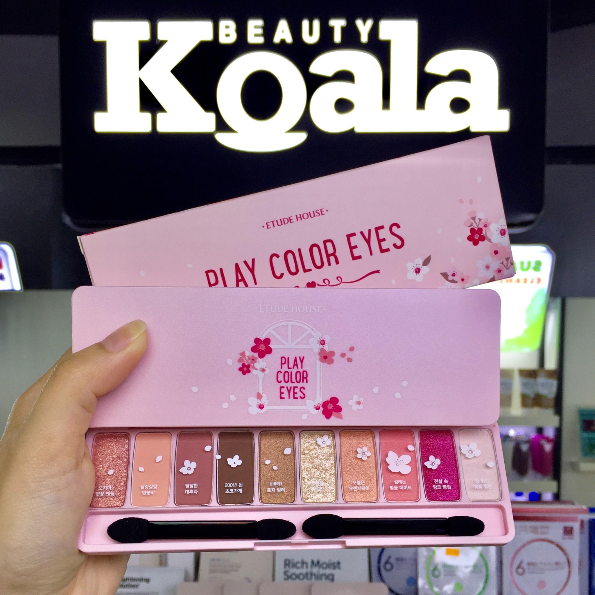 Bảng Màu Mắt 10 ô Etude House Play Color Eyes #Cherry Blossom