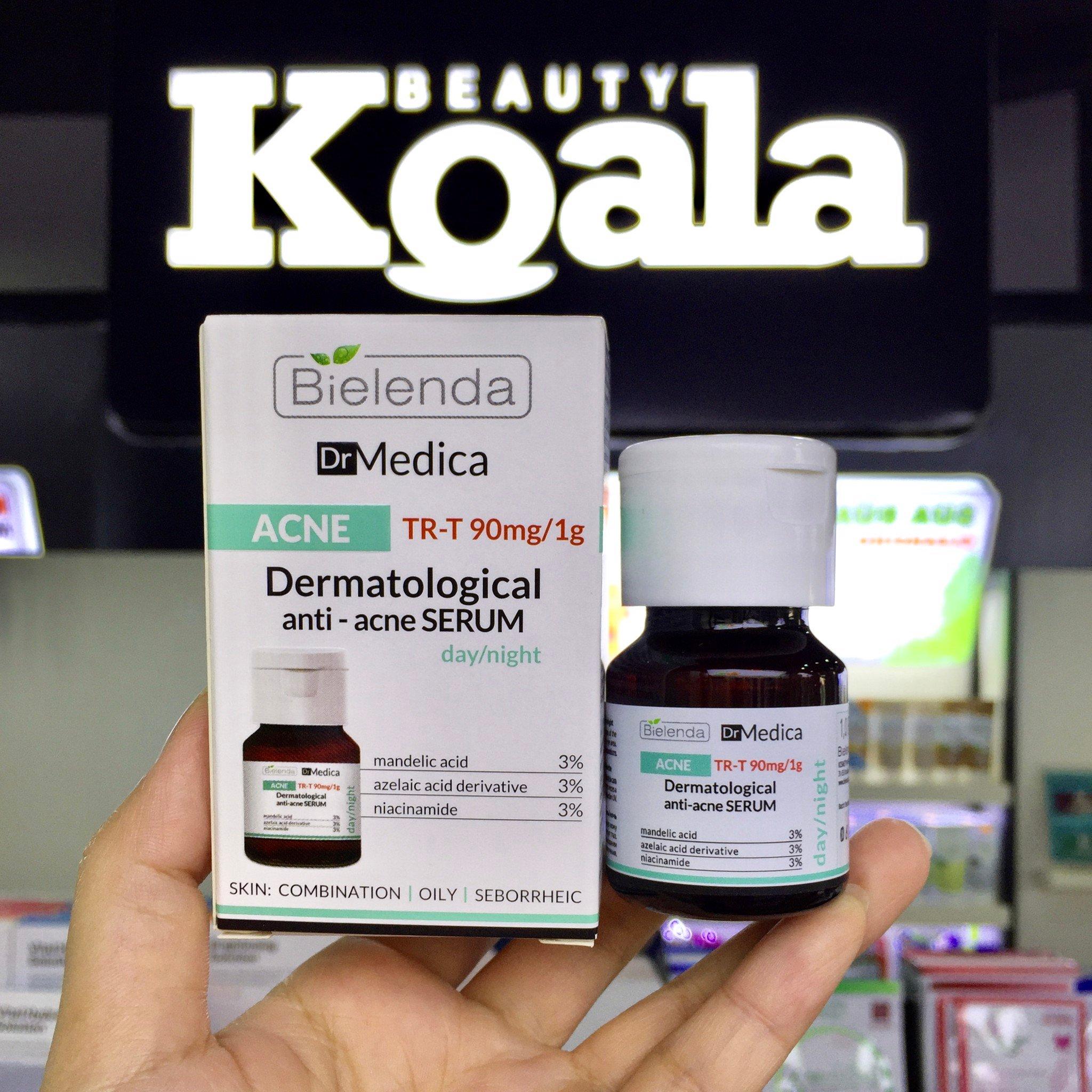Tinh Chất Đặc Trị Mụn Giảm Thâm Dr Medica ACNE Dermatological Anti-Acne Serum 30ml