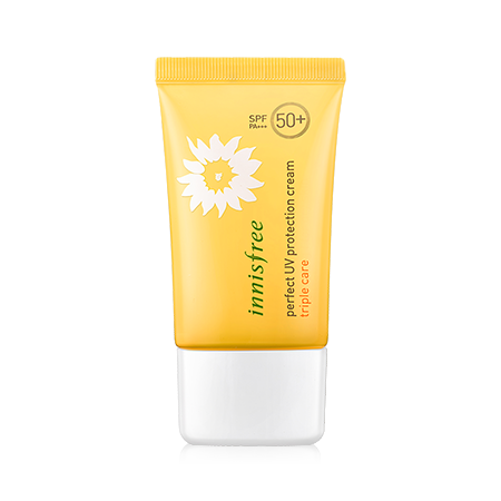 Kem Chống Nắng Innisfree Perfect UV Protection Cream Triple Care SPF50+ 50ml