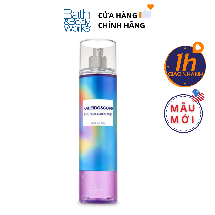 Xịt Body Bath & Body Works KALEIDOSCOPE Fine Fragrance Mist