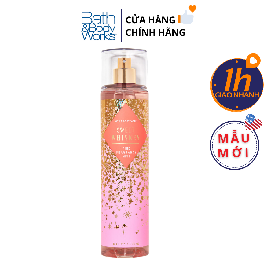 Xịt Body Bath & Body Works SWEET WHISKEY Fine Fragrance Mist