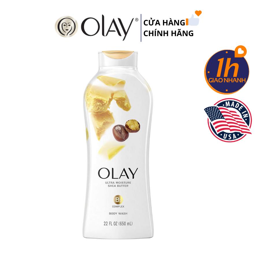 Sữa Tắm Olay Body Wash 650ml (Hàng Mỹ)