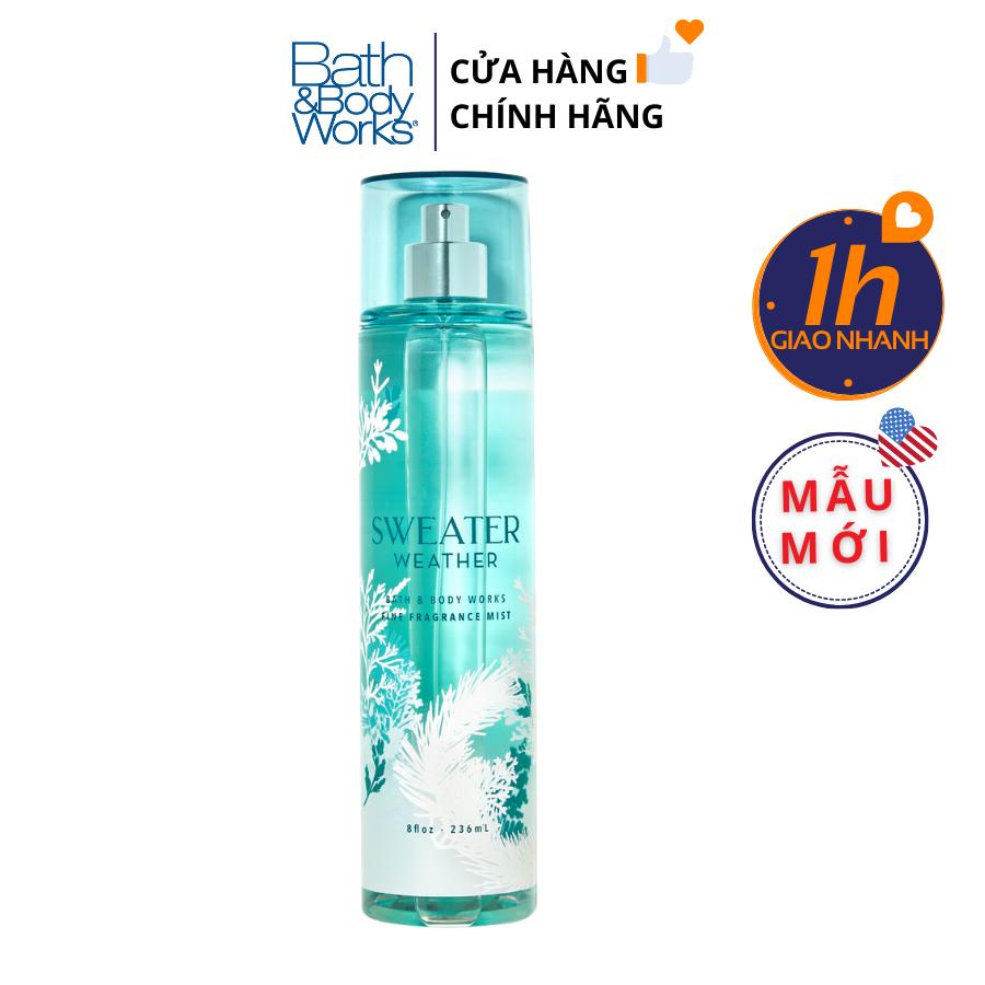 Xịt Body Bath & Body Works SWEATER WEATHER Fine Fragrance Mist