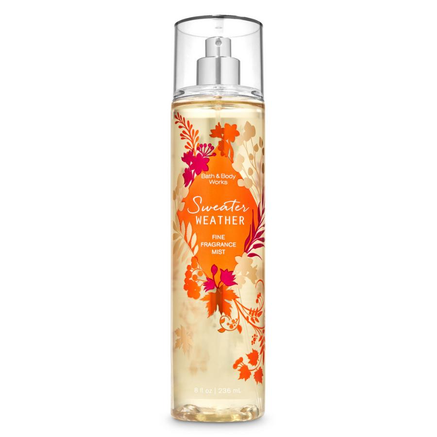 Xịt Body Bath & Body Works SWEATER WEATHER* Fine Fragrance Mist