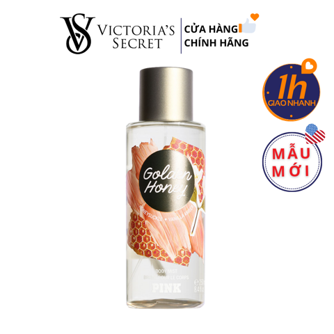 Xịt Body Victoria's Secret PINK GOLDEN HONEY Body Mist