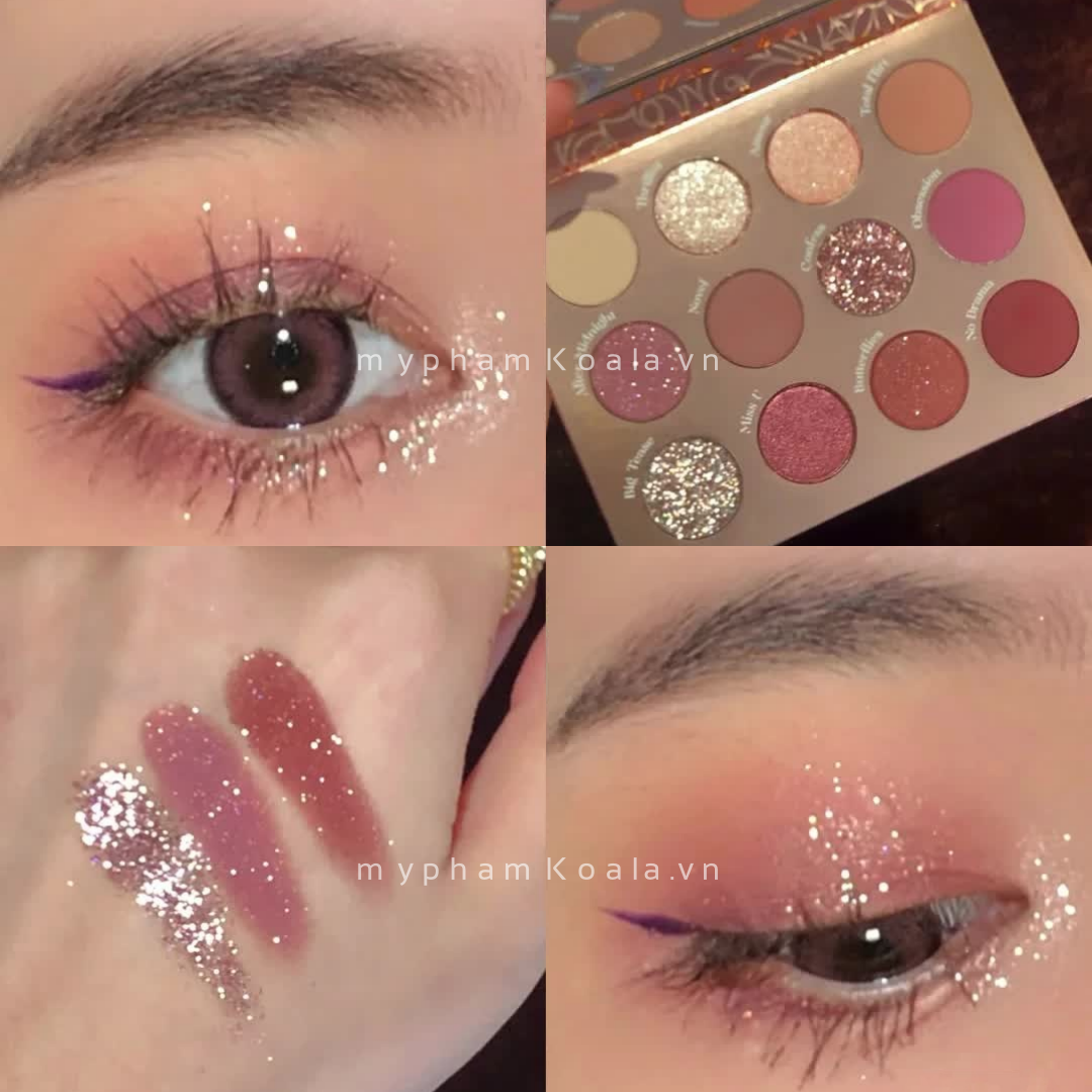 Màu Mắt 12 Ô ColourPop Pressed Powder Palette