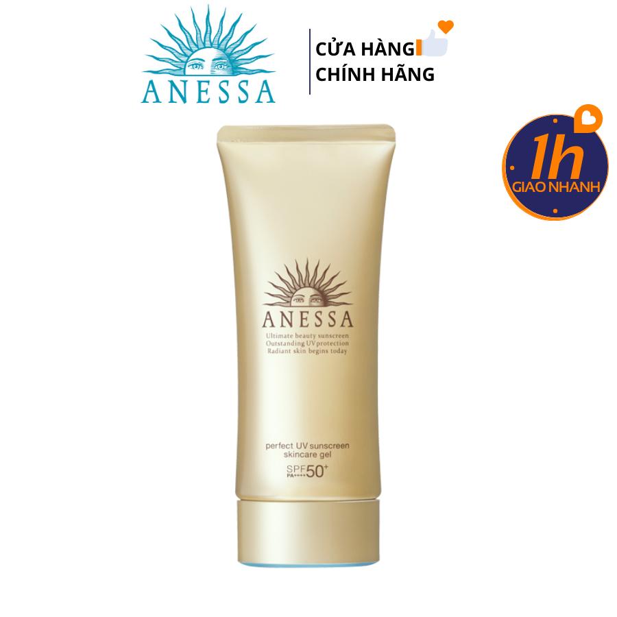 Gel Chống Nắng Dưỡng Da Anessa Perfect UV Sunscreen Skincare SPF 50+/ PA++++ (90g)