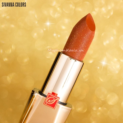 Son Ánh Nhủ Lấp Lánh Sivanna Colors Luxury Power Matte LipStick