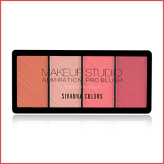 Má Hồng 4 ô Sivanna Colors Makeup Studio Admiration Pro Blush HF5002