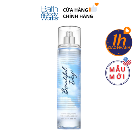 Xịt Body Bath & Body Works BEAUTIFUL DAY Fine Fragrance Mist