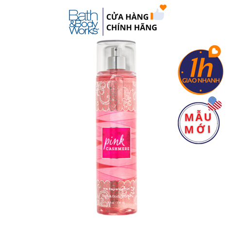 Xịt Body Bath & Body Works PINK CASHMERE Fine Fragrance Mist
