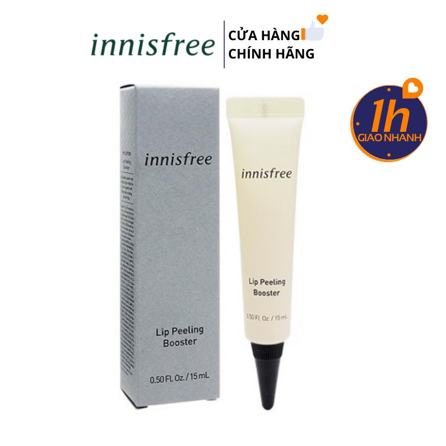 Tẩy Da Chết Tái Tạo Da Môi Innisfree Lip Peeling Booster 15ml