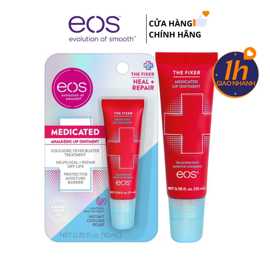 Son Dưỡng Đặc Trị EOS The Fixer Medicated Lip Ointment