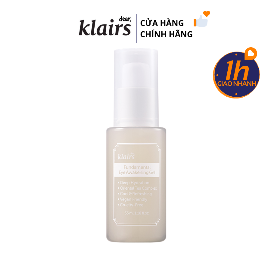 Kem Mắt Klairs Fundamental Eye Awakening Gel