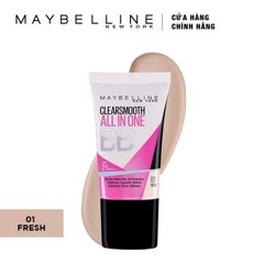 Kem Nền Maybelline Clear Smooth All In One UV BB White SPF 21