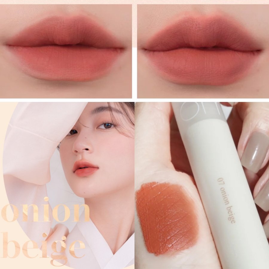 [Hanbok Project] Son Kem Lì Siêu Mịn Môi Romand See Through Matte Tint