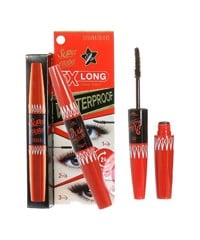 Mascara SIVANNA Super Model 5X Long Waterproof  (4,5g + 1,2g)