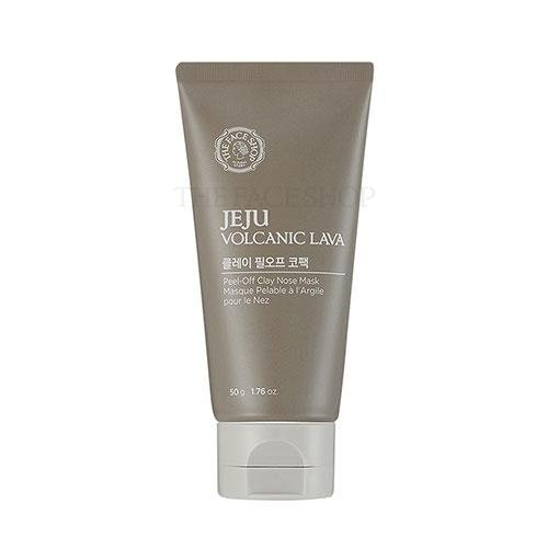 Mặt Nạ Lột Mụn TheFaceShop Jeju Volcanic Lava Peel-Off Clay Nose Mask