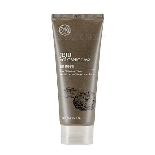 Sữa Rửa Mặt The Face Shop Jeju Volcanic Lava Pore Cleansing Foam