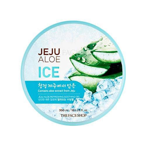 Gel Lạnh TheFaceShop Jeju Aloe ICE Refreshing Soothing