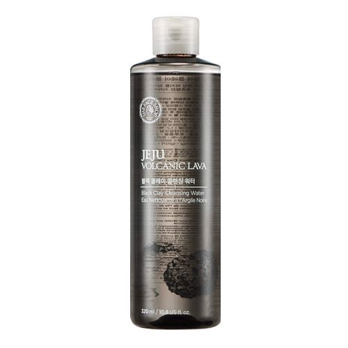 Nước tẩy trang The Face Shop Jeju Volcanic Lava Black Clay Cleansing Water (320ml)