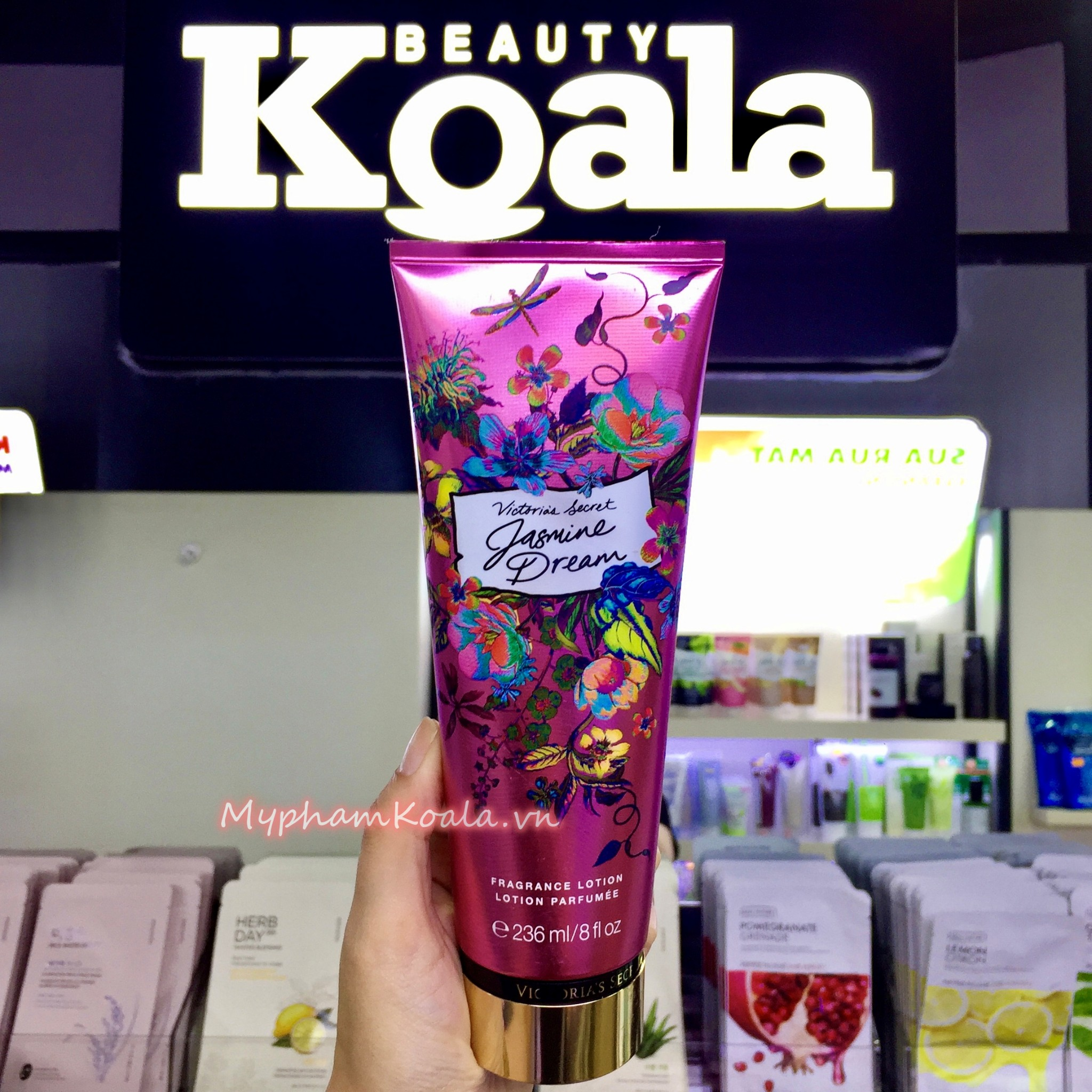 NEW ! Dưỡng Thể Nước Hoa Victoria's Secret WONDER GARDEN Fragrance Lotion 236ml