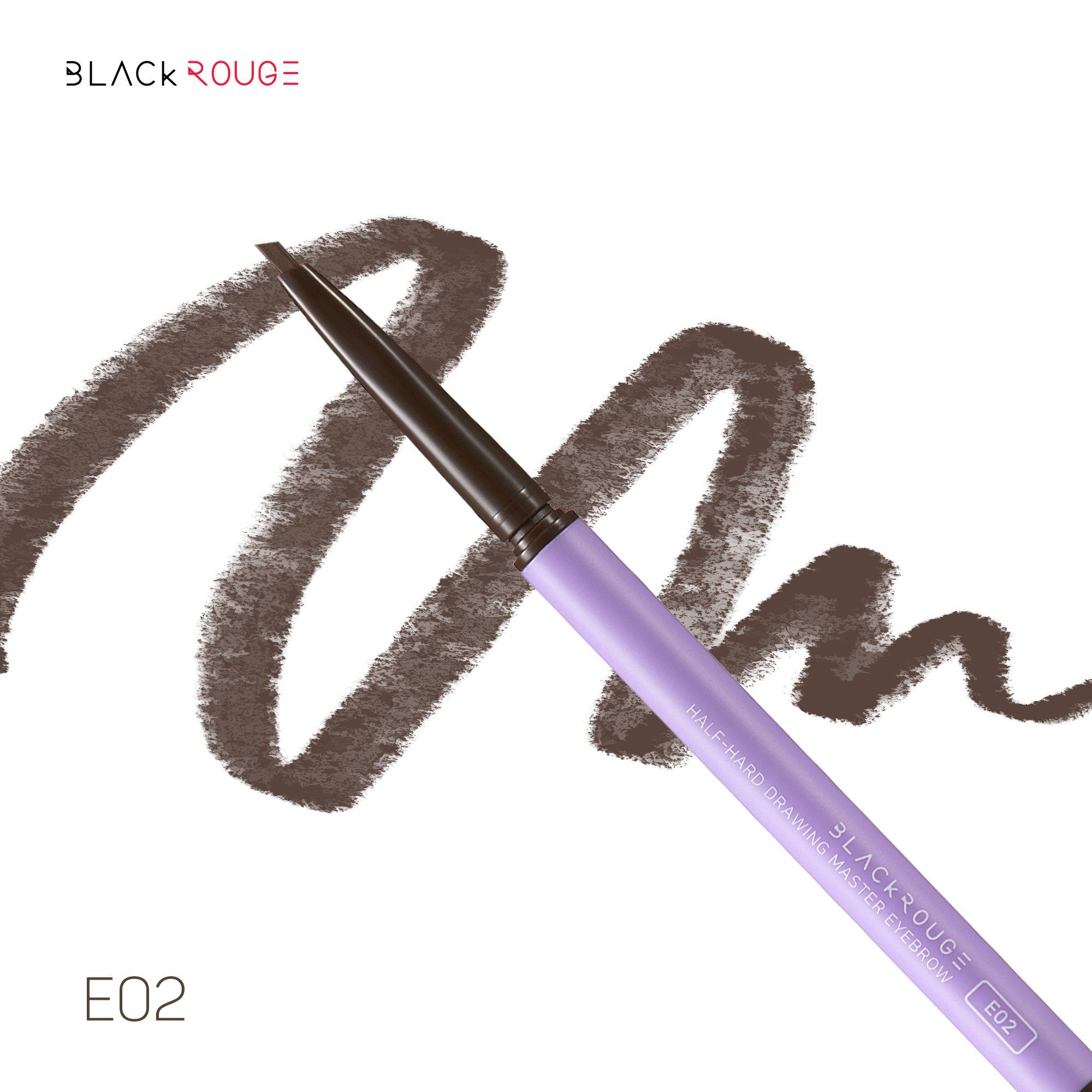 Chì Kẻ Mày Chuyên Nghiệp Black Rouge Half-Hard Drawing Master Eyebrow