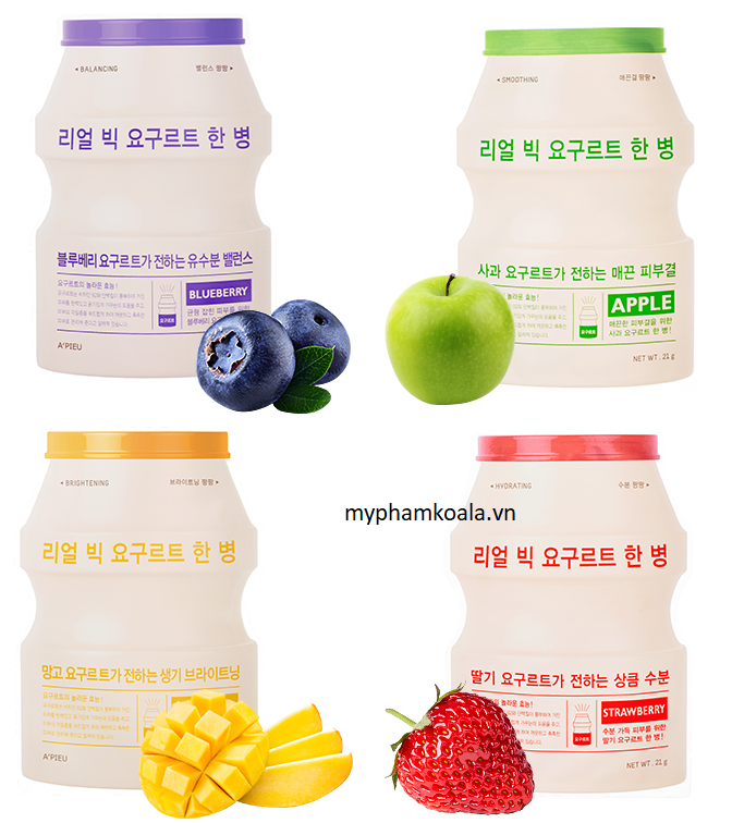 Mặt Nạ APieu A Bottle Of Real Big Yogurt