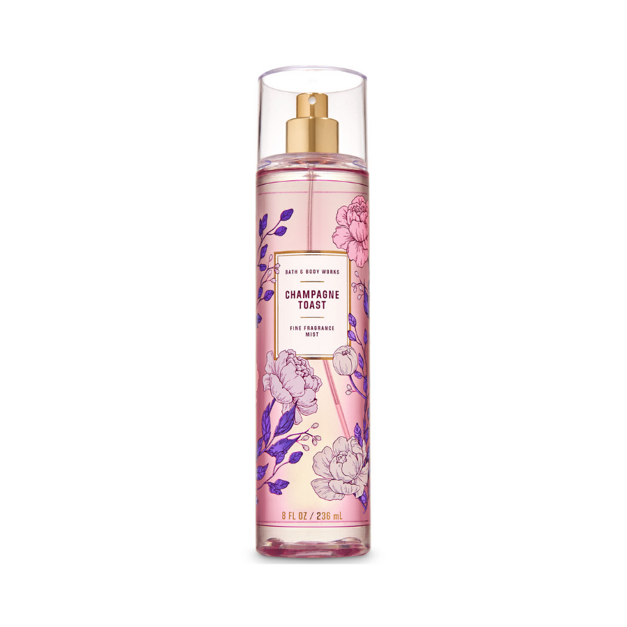Xịt Body Bath & Body Works CHAMPAGNE TOAST Fine Fragrance Mist