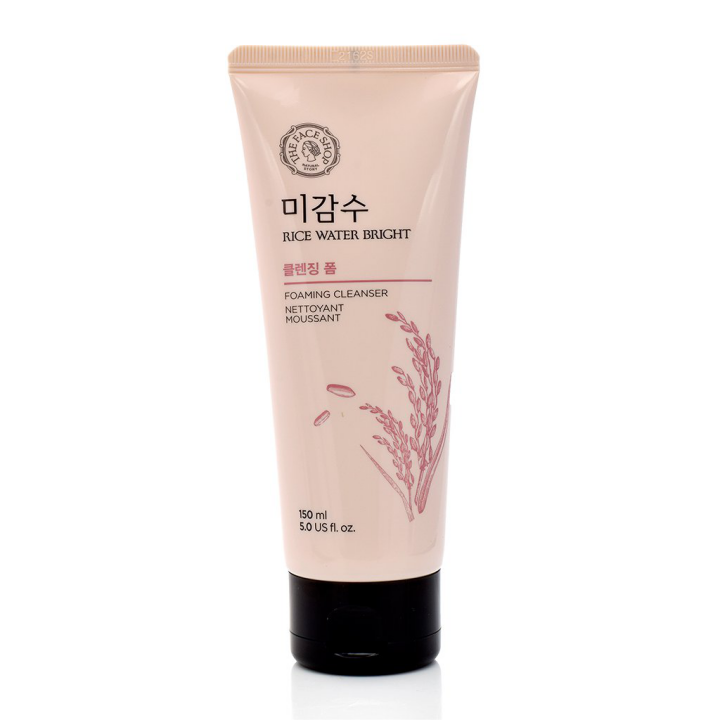 Sữa Rửa Mặt Gạo The Face Shop Rice Water Bright Foaming Cleanser 100ml