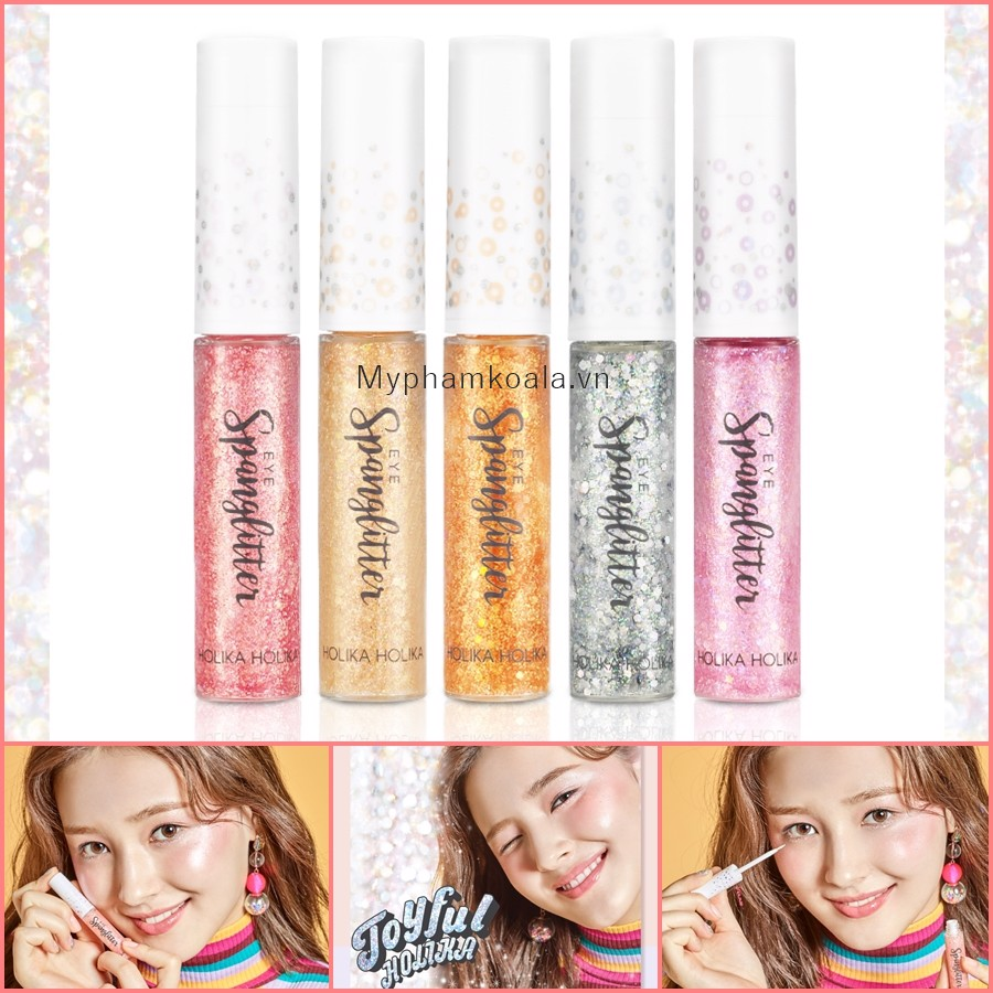 [ New 2019 ] Nhũ Mắt Holika X Joyful Collection Eye Span Glitter