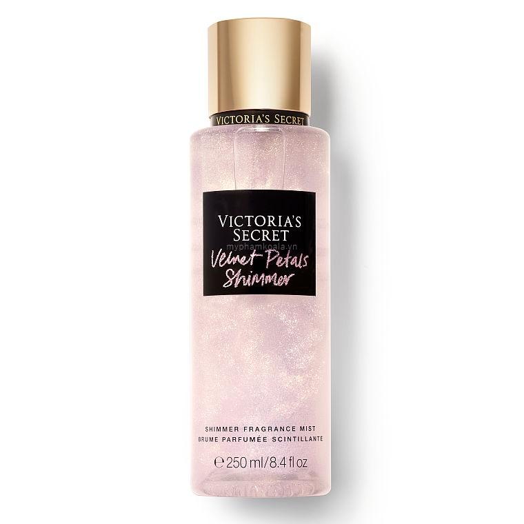 NEW! Xịt Thơm Có Nhũ Victoria's Secret Holiday Shimmer Fragrance Mist 250ml
