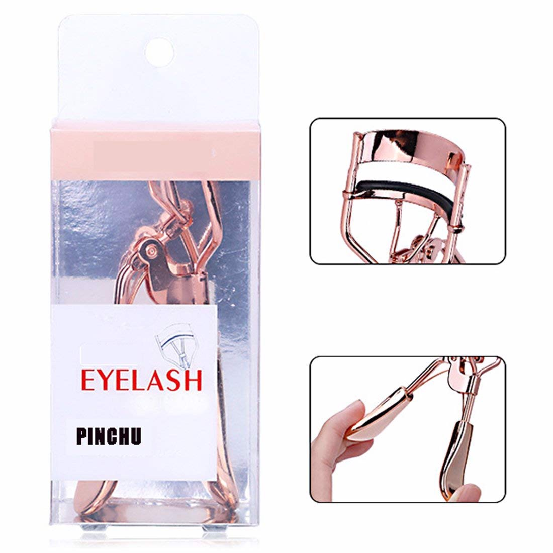 Bấm mi Eyelash Curler Rose- Gold A306