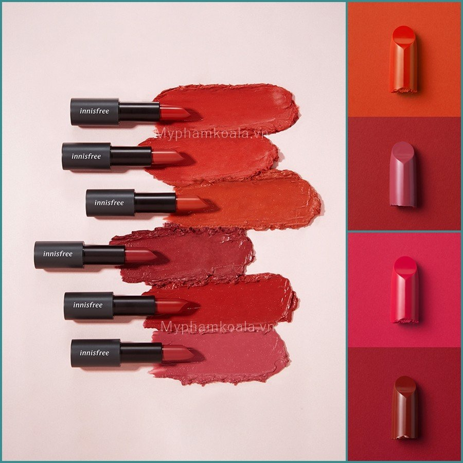 [NEW 2019] Son Thỏi Lì Innisfree Real Fit LipStick