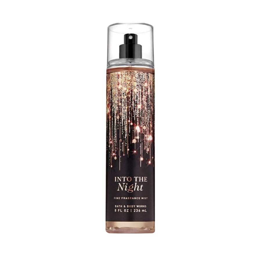 Xịt Body Bath & Body Works INTO THE NIGHT Fine Fragrance Mist